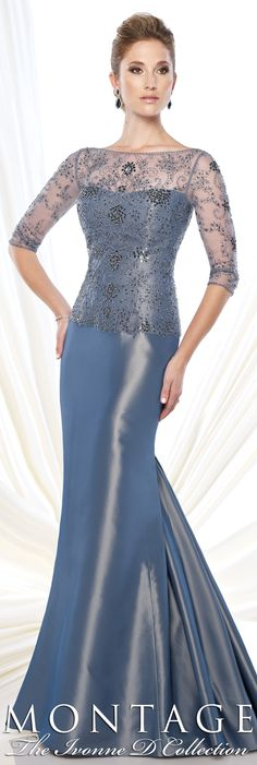 Montage The Ivonne D Collection Fall 2015 - Style No. 215D09 #eveninggowns