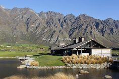 The Club House Jack's Point Golf Course. Jack's Point Golf Course, Queenstown New Zealand is considered one of the top 100 golf courses in the world. Set within a 3,000 acre nature preserve on the shores of Lake Wakatipu, Jacks Point has sweeping lake and alpine vistas with a 360-degree mountain scape. The course is bounded by the Remarkables mountain range and Lake Wakatipu. Queenstown, Otago, New Zealand. 26th November 2011. Photo Tim Clayton-played it 2001....just amazing!!!