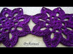 Crochet Flower Patterns, Crochet Designs, Crochet Flowers, Learn To Crochet, Crochet Projects, Crochet Necklace, U2, Grande, Elsa
