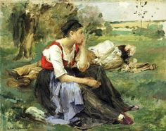 It's About Time: Working women painted by Frenchman Jules Bastien-Lepage (1848–1884)