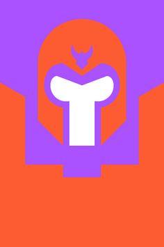 Re Vision Pop Culture Icons by Forma & Co cartoon comic Marvel superhero X Men Magneto