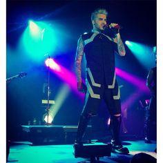 04/20/16 Adam Lambert Tallinn, Estonia TOH Tour
