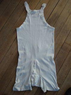 Vintage Mens Cotton Onesie Underwear by bycinbyhand on Etsy, $18.00