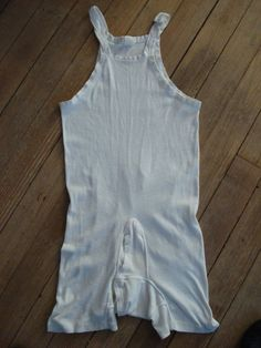 Vintage Mens Cotton Onesie Underwear by bycinbyhand on Etsy, $18.00