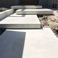 If you are working with the best backyard pool landscaping ideas there are lot of choices. You need to look into your budget for backyard landscaping ideas Landscape Stairs, Garden Landscape Design, Modern Landscaping, Outdoor Landscaping, Outdoor Steps, Exterior Stairs, Concrete Stairs, Garden Steps, Stair Steps