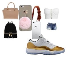 """School"" by pettyallthe on Polyvore featuring NLY Trend, MICHAEL Michael Kors and Michael Kors"