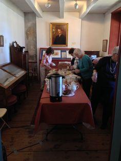 Some of our wonderful volunteers #teaparty #springtea #historichudsonvalley #happyhudsonvalley #hudsonvalleyparent #mountgulian