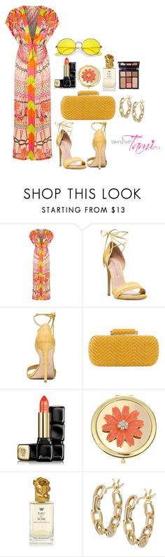 """Temperley London"" by talkingwithtami ❤ liked on Polyvore featuring Temperley London, Stuart Weitzman, Inge Christopher, Guerlain, Liz Claiborne, Sisley, Charlotte Tilbury, TILDA BIEHN and Ray-Ban"