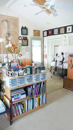 Elsita's amazing studio space.