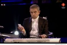 Rowan Atkinson (Mr Bean) Performs At The Opening Ceremony Of The London Olympics