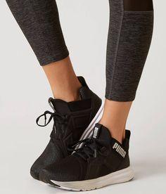 Puma Enzo Metallic Shoe - Women s Shoes in Quarry Puma Silver  d67e9104e45