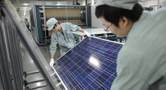 Glut of Solar Panels Poses a New Threat to China By KEITH BRADSHER