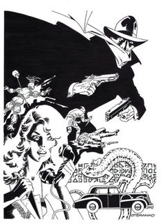 The Shadow by Jim Steranko