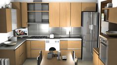 Cucina componibile by #Scavolini #kitchen #kitchens #Sermobil #design