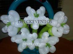Flor lirio de globos /  Lily balloons flower / tutorial