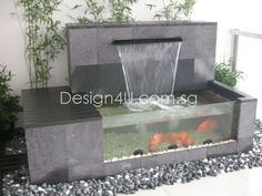 Singapore Koi Pond, Water Feature, Fiberglass & Swimming Pool, Landscape, Home Renovation – Design4U