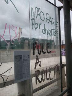 Não pague por direitos pule a roleta Centro de Vitória/ES 2013