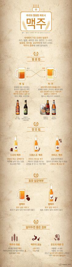 발효‧양조법에 따라 나뉘는 맥주의 세계 [인포그래픽] #Beer / #Infographic ⓒ 비주얼다이브 무단 복사·전재·재배포 금지