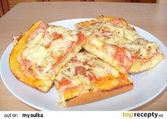 Pizza z jogurtu recept - TopRecepty.cz