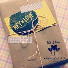 Hey Love Designs packaging