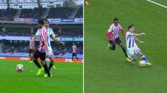 Real Sociedad: Los dos errores que condenaron a la Real Sociedad en el derbi vasco | Marca.com http://www.marca.com/futbol/real-sociedad/2017/03/12/58c55bf322601d18398b459e.html