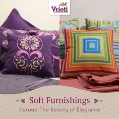#SoftFurnishing beautifies the interiors and provide a pleasant atmosphere in the house. Let your charismatic sense of #luxurious #style reveal through our beautifully crafted #cushion #covers.   Shop now ! Flat 40% offer going on.   Visit our store or Call on: +91 120 4311245.