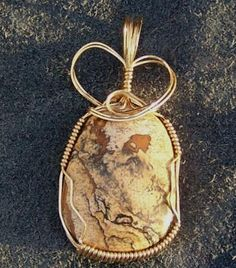 FREE S - Pendant - Picture Jasper Beyond Compare - A JewelryArtistry Original - P282