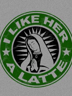 Catholic t-shirt, coffee style.