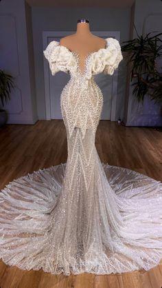 Peacock Wedding Dresses, Sheer Wedding Dress, Wedding Dress Sleeves, Dream Wedding Dresses, Bridal Dresses, Glam Dresses, Event Dresses, Engagement Dresses, Party