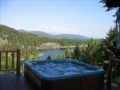 VRBO.com #294314 - 4 BR, Secluded, Hot Tub, 66 Acres Bootjack Lake, Whitefish