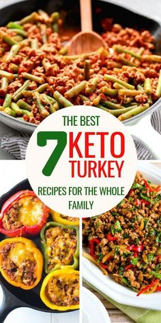 Here are some delicious keto ground turkey recipes to make some fantastic dinners on the ketogenic diet. Your kids won't ever be picky after that! Ketogenic Recipes, Diet Recipes, Healthy Recipes, Healthy Chips, Healthy Fruits, Lunch Recipes, Diet Meals, Chili Recipes, Shrimp Recipes