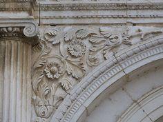 Ecoinçon (détail de la façade du château).