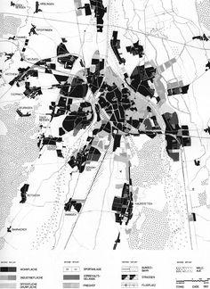 LAND-USE PLAN FOR AUGSBURG, 1961. IN: DEUTSCHER STÄDTEBAU NACH 1945