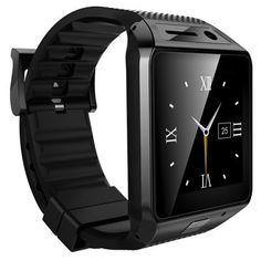 SIM TF Edelstahl Touch Smartwatch Bluetooth 3,0 Pulsmesser Temperaturüberwachung Schrittzähler PSG Smart Watch Phone //Price: $US $39.99 & FREE Shipping //     #clknetwork