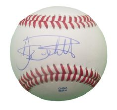 Boston Red Sox Dante Bichette signed Rawlings ROLB leather baseball w/ COA.  COA issued from Southwestconnection-Memorabilia, guaranteeing the item to pass authentication services from PSA/DNA or JSA will be included with your purchase. Free USPS shipping. www.AutographedwithProof.com is your one stop for autographed collectibles from Boston sports teams. Check back with us often, as we are always obtaining new items.