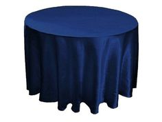 "108"" Round Satin Tablecloths Wedding Party Table Linens - 10 colors by BalsaCircle, http://www.amazon.com/dp/B0066DCZHG/ref=cm_sw_r_pi_dp_pjESpb08QDD39"
