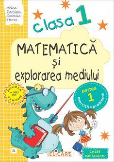 Clasa I : Matematică şi explorarea mediului. Clasa I. Partea I - (E1) Thing 1, Math For Kids, Algebra, Family Guy, Activities, Education, Words, School, Children
