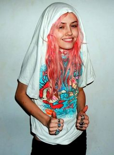 #pink hair don't care.