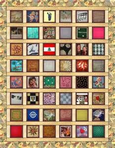 Connie's Memory Quilt Photo Quilts, Advent Calendar, Memories, Sewing, Holiday Decor, Quilting, Memory Quilts, Pattern, Home Decor