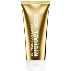 Michael Kors Collection Body Lotion, 5 oz ($48) ❤ liked on Polyvore featuring beauty products, bath & body products, body moisturizers, no color, michael kors and body moisturizer
