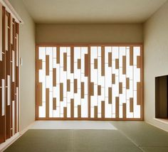 wood wall screens  house of representation - form/kouichi kimura architects