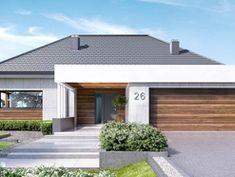 DOM.PL™ - Projekt domu CPT Koncept 26 CE - DOM CP1-29 - gotowy koszt budowy Outdoor Decor, Home Decor, Decoration Home, Room Decor, Home Interior Design, Home Decoration, Interior Design