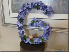 Spring Craft Project: How to Make a Blooming Initial