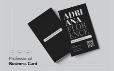 Professional and Modern Business Card V.11 Corporate Identity Template
