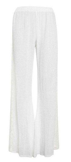 Alexis Exclusive Penelope lace trim gauzy pant