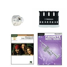 Items similar to Trumpet Music Academy Advancement pack -Trumpet Embouchure Tool; Adjustable Hand Exerciser + (Pirates of the Caribbean Music Book Bundle) on Etsy Trumpet Accessories, Trumpet Music, Trumpet Players, Movie Themes, Pirates Of The Caribbean, Teaching Tools, Books, Handmade, Products