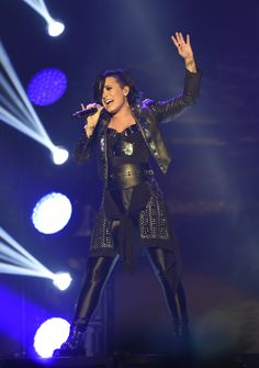 NOVEMBER 29th - Demi Lovato performing at the Phones 4U Arena in Manchester, UK.