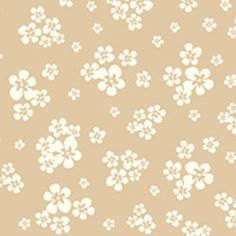 Simon   Kabuki - Feather Your Nest - Blossoms in Latte