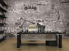Carta da parati a motivi NEWS Collezione Fancy by MyCollection.it   design MyCollection