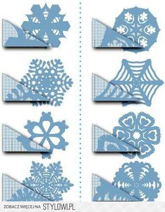 Know How - Hand Made - Paper Snowflakes